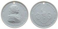 Porzellan Medaille Porzellan Böttger Johannes Friedrich (1682-1719) - Erfinder des Porzellans, Bött