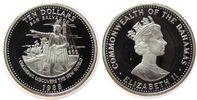 Bahamas 10 Dollar Ag Kolumbus, kleiner Fleck