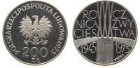 Polen 200 Zlotych Ag Probe