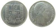 Frankreich 10 Francs Ag Turin, Gad. 801