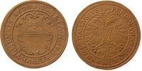 Porzellan Harter Taler Böttger Steinzeug Ulm - Harter Taler 1620, ca. 38 MM