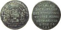 Reformation / Religion Medaille Silber Augsburg - auf die 200-Jahrfeier der Übergabe der Augsburger Konfession,