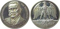 Hindenburg Medaille Silber Hindenburg Paul von Reichspräsident - auf seinen 80. Geburtstag, Brustbil