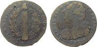 Frankreich 2 Sols Br Louis XVI, Mzz: A (Paris), L AN 4, Typ: Francois