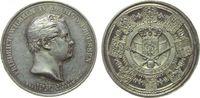 vor 1914 Medaille Silber Friedrich Wilhelm IV. (1840-1861) - auf die Huldigung zu Berlin, Büste na