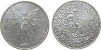 Mexiko 2 Pesos Ag Unabhängigkeit, kleine Randfehler