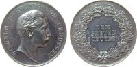 Schützen Schießprämie Silber Wilhelm II (1888-1918), Brandenburg-Preußen, dem besten Schützen, v. Weig