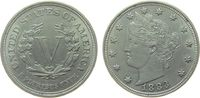 USA 5 Cents KN Liberty, minimale Reibespur