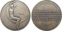 Kalendermedaille Medaille Silber Luna, v. Welz, ca. 40 MM, ca. 20,58 Gramm, mattiert, Rand: A900