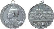 Schützen tragbare Medaille Aluminium Offenbach am Main - auf das 23. Verbandsschießen, Brustbild von Ernst