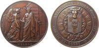 Belgien Medaille Bronze Antwerpen - Kunstfest, Hymen mit Stadtgöttin - unten Welkom / Wappen mit