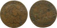 Frankreich Jeton Kupfer Louis XIV (1643-1715) und Marie Therése, Extraordinaire des Guerres - Ani