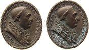 Vatikan Medaille Bronze Paul II (1464-71), Gnadenpfennigartige Medaille, Büste nach rechts, ca. 3