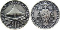 Vatikan Medaille Silber Sede Vacante 1963 - Kardinal Camerlengo Benedetto Aloisi-Masella, v. Save