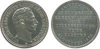vor 1914 Medaille Silber Wilhelm II. (1888-1918), Besuch des Kaisers zur Zollanschlußfeier in Hamb