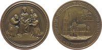 Köln Medaille Bronze Köln - auf den 700. Jahrestag der Grundsteinlegung 1248, Domansicht von S