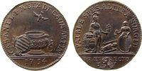 Frankreich Jeton Bronze Metz - auf die Taufe des Casimir Metz de Caumartin, Lothringen, der Heili