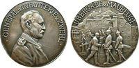 erster Weltkrieg Medaille Silber Zwehl Johann von ( 1851-1926), General, Träger des Pour le Mérite, auf di