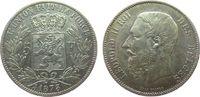 5 Francs 1873 Belgien Ag Leopold II (1865-1909) ss  20,00 EUR  + 8,00 EUR frais d'envoi