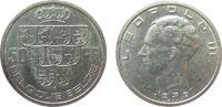 50 Francs 1939 Belgien Ag Leopold III (1934-1950), Belgique-Belgie ss-vz  15,00 EUR  + 8,00 EUR frais d'envoi