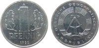 1 Pfennig 1980 DDR Al A, Berlin, Export stgl  2,00 EUR  + 8,00 EUR frais d'envoi