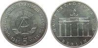 5 Mark 1980 DDR NS Brandenburger Tor, etwas fleckig vz-stgl  12,50 EUR  + 8,00 EUR frais d'envoi