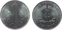 1 Mark 1982 DDR Al A, Berlin, matt stgl  2,50 EUR  + 8,00 EUR frais d'envoi