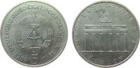 5 Mark 1982 DDR NS Brandenburger Tor vz-stgl  15,00 EUR  + 8,00 EUR frais d'envoi
