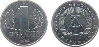 1 Pfennig 1984 DDR Al A, Berlin, Export stgl  2,00 EUR  + 8,00 EUR frais d'envoi