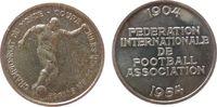 Medaille 1954 Schweiz Silber Rimet Jules (1873-1956) - 50 Jahre FIFA, F... 25,00 EUR  + 8,00 EUR frais d'envoi