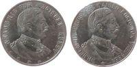 vor 1914 Medaille Zink versilbert (?) Wilhelm II. (1888-1918) - Akademie für magische Kunst, beise