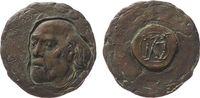 Medaille 1997 Personen Bronze Nuss Fritz (1907-1999) - auf seinen 90. G... 150,00 EUR  zzgl. 6,00 EUR Versand