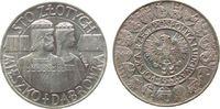 100 Zlotych 1966 Polen Ag 1000 Jahrfeier Polens, Mieszko i Dabrowka, Pr... 47,50 EUR  zzgl. 3,95 EUR Versand