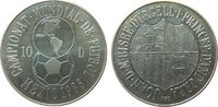 10 Deniers 1986 Andorra Ag Fußball WM in Mexiko unz  15,00 EUR  zzgl. 3,95 EUR Versand
