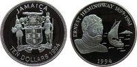 10 Dollars 1994 Jamaika Ag Ernest Hemingway, der alte Mann und das Meer... 35,00 EUR  zzgl. 3,95 EUR Versand