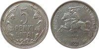 5 Litai 1925 Litauen Ag Reiter ss  15,00 EUR  zzgl. 3,95 EUR Versand