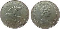 50 Rupien 1975 Mauritius Ag Turmfalke unz  24,50 EUR  zzgl. 3,95 EUR Versand