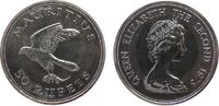 50 Rupien 1975 Mauritius Ag Turmfalke, etwas fleckig unz  24,50 EUR  zzgl. 3,95 EUR Versand