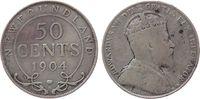 50 Cents 1904 Neufundland Ag Edward VII schön  14,50 EUR  zzgl. 3,95 EUR Versand