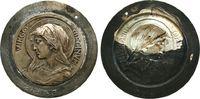 Vatikan Medaille . Virgo Virginum, einseitige Prägung, RS Punzen: P1626, gelocht, ca. 52 MM
