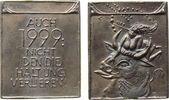 Neujahr Plakette Weißmetallguß Neujahr 1999 - Europa, Schrift