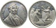 Kanada Medaille Zinn Wingram T. (1810-1891) - Methodist und Evangelist, Brustbild von vorn / Kir