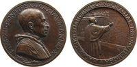Vatikan Medaille Bronze Pius XII (1939-1958), ANNO X (1948/49), auf die Pfingstansprache, v.A. Mi