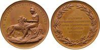 Norwegen Medaille Bronze Karl XV. (1859-1872) - auf das 50-jähriges Jubiläum der Friedrich-Akademi