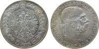 Österreich 5 Kronen Ag Franz Joseph I