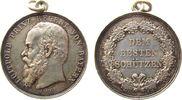 Schützen Schießprämie Silber Luitpold (1821-1912) Prinzregent von Bayern - dem besten Schützen, v. A.