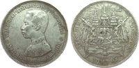 Thailand 1 Baht Ag Rama V, 1876-1900