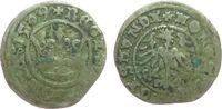 Polen 1 Kron-Halbgroschen Ag Sigismund I (1506-48)