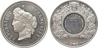 Frankreich Preismedaille Silber Domfront (Orne) - Landwirtschaft, Büste der Ceres nach links / leeres Gra