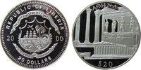 Liberia 20 Dollar Ag Athen